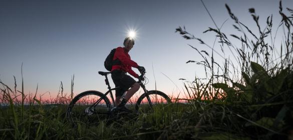 Red Cycling Products Iluminación